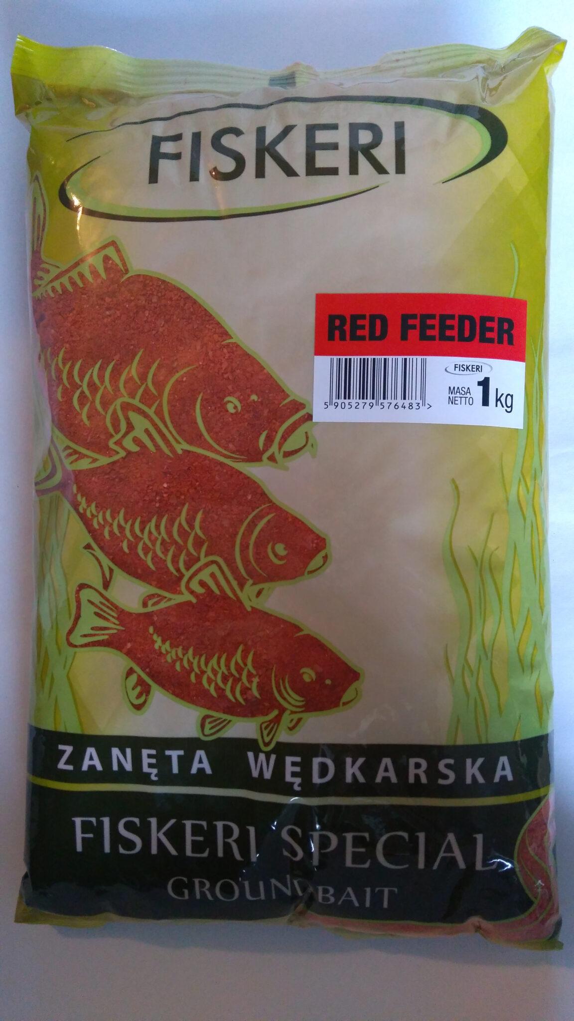 zan臋ta method feeder red
